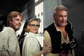 Now and then Star Wars