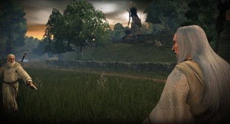 Gandalf Vs Saurman