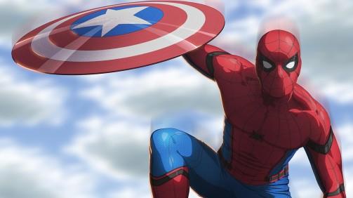 Spiderman from Civil War