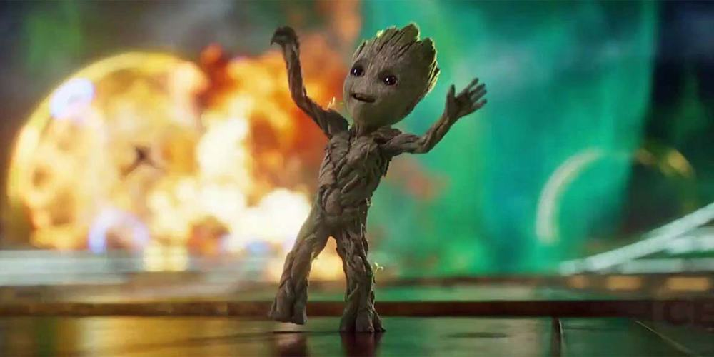 Baby-Groot-dancing-in-Guardians-of-the-Galaxy-Vol-2-opening-scene