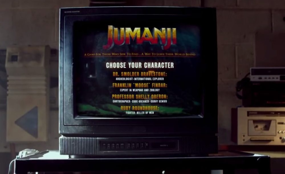 jumanjigame on TV